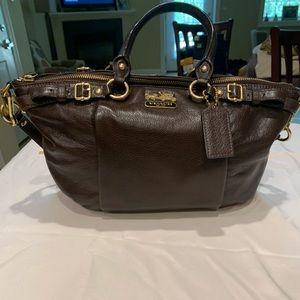 Like new COACH Madison Sophia Brown Soft Leather